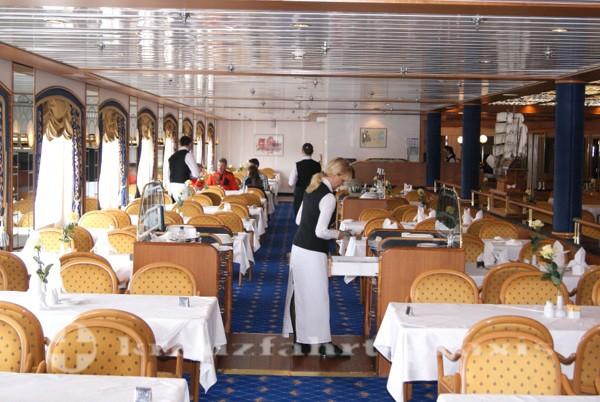 Restaurant Pazifik an Backbord