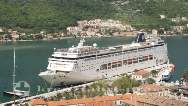 MSC Armonia in Kotor