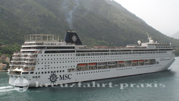msc armonia 310 in kotor