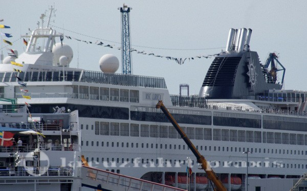 MSC Lirica in Hamburg Altona
