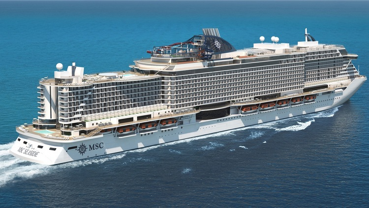 MSC Seaside - Rendering