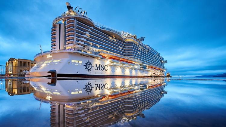 MSC Seaside in Miami getauft
