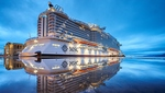 MSC Seaside in Miami getauft