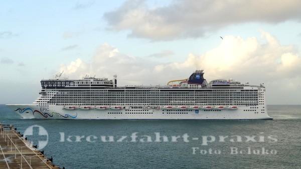 Norwegian Epic vor Sint Maarten