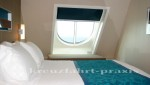 Norwegian Getaway - Außenkabine mit großem Fenster