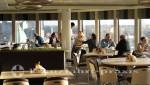 Norwegian Getaway - Garden Café - Heckbereich