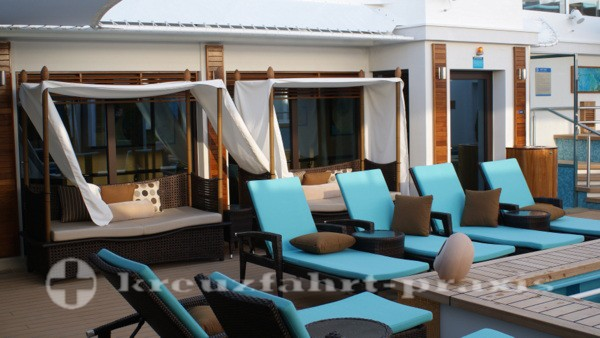 The Haven Courtyard der Norwegian Getaway
