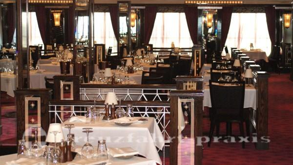 Norwegian Getaway - Hauptrestaurant Tropicana Room
