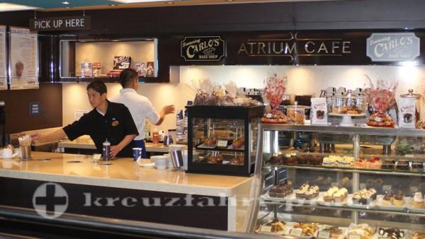 Norwegian Getaway - Atrium Café