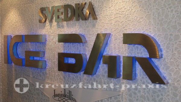 Norwegian Getaway - Svedka & Inniskillin Ice Bar