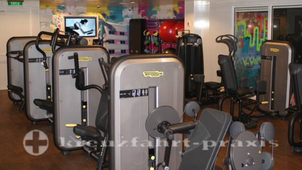 Norwegian Getaway - Pulse Fitness Center