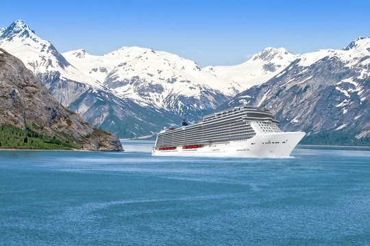 Norwegian Bliss - Rendering
