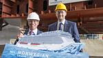 Meyer Werft startet offiziell Bau der Norwegian Bliss