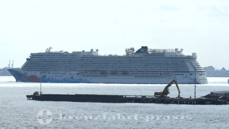 Norwegian Breakaway vor New York