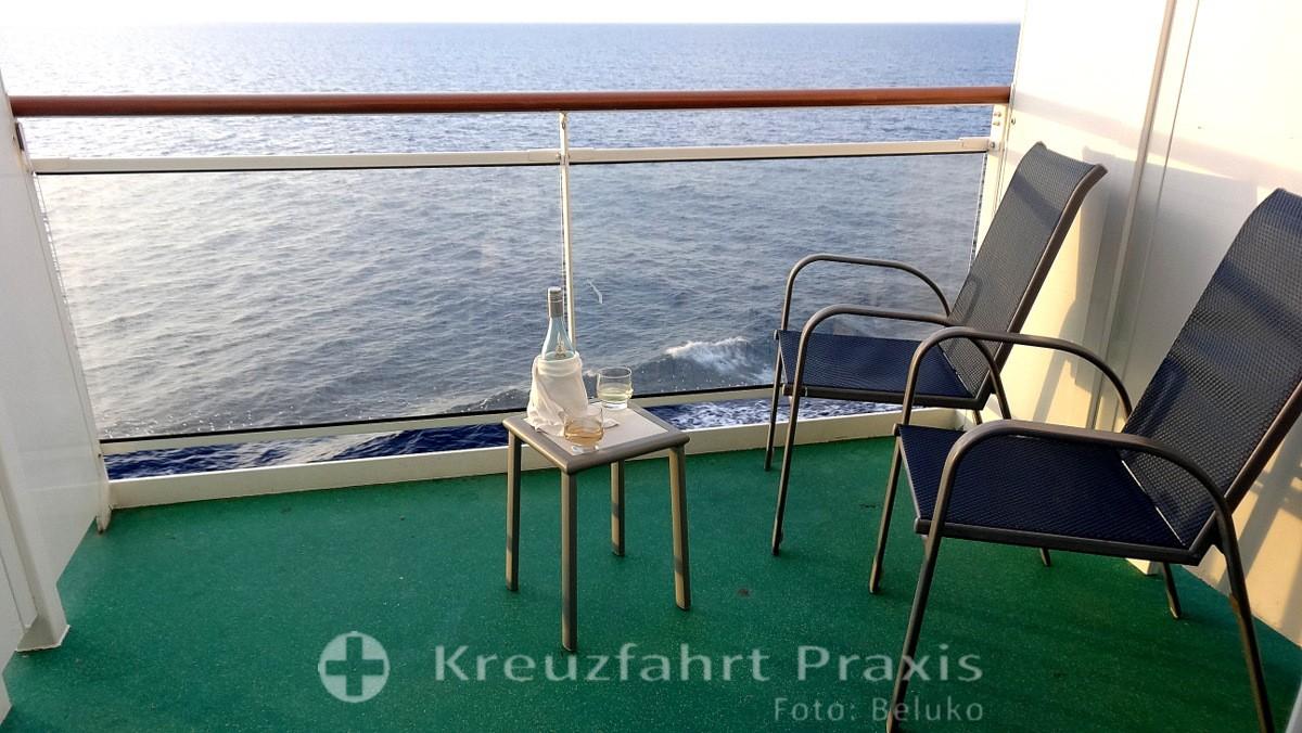 Norwegian Epic - Balcony Cabin 8105 - Porch