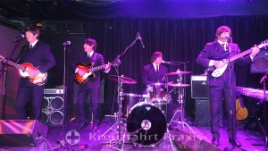 Auftritt der Beatles-Coverband im Cavern Club