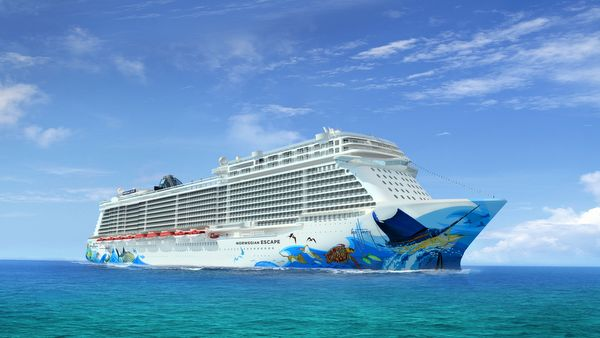 Norwegian Escape - Animation