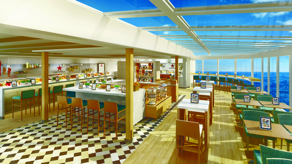 Norwegian Escape - Food Republic