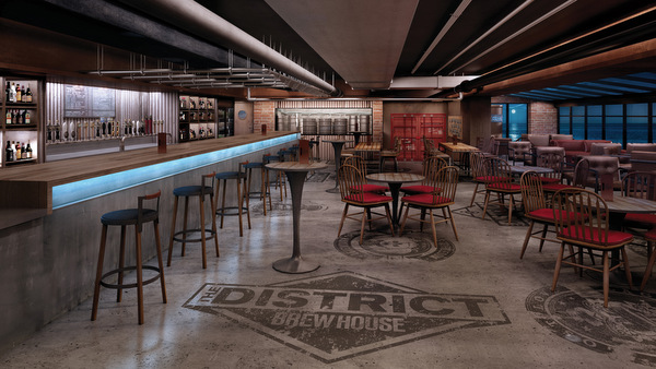 Norwegian Escape - The District Brew House