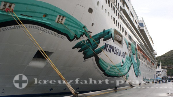 Norwegian Jade in Dubrovnik