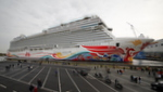 Norwegian Joy meistert die Emspassage