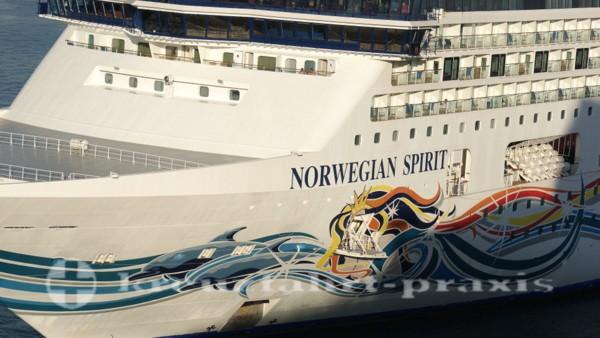 norwegian spirit in civitavecchia