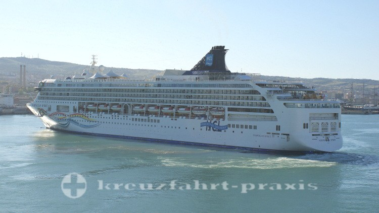 Norwegian Spirit in Civitavecchia