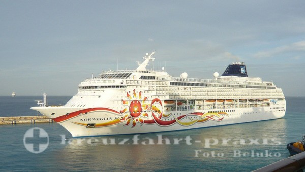 Norwegian Sun in Bridgetown