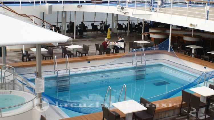 Pooldeck der Norwegian Sun