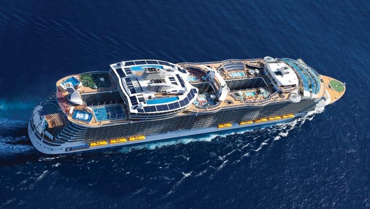 Royal Caribbeans fünftes Oasis-Klasse-Kreuzfahrtschiff