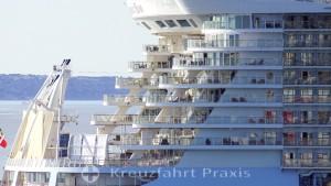 Heckpartie der Oasis of the Seas