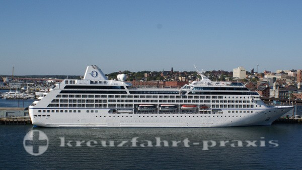 Oceania Cruises - Regatta in Portland/Maine