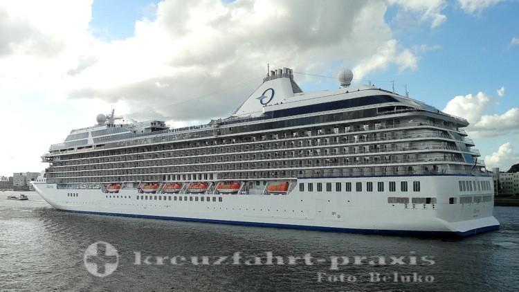 Oceania Cruises - Marina in Amsterdam