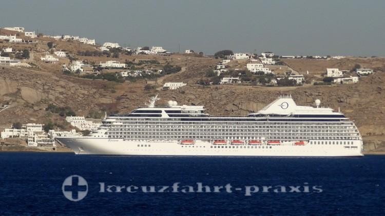 Oceania Riviera vor Mykonos