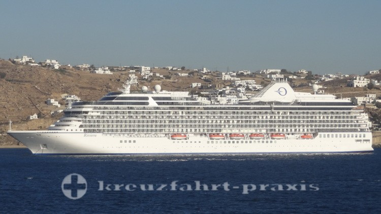 Oceania Cruises - Riviera vor Mykonos
