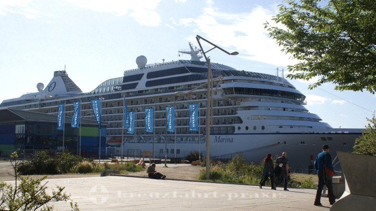 Oceania Marina in Hamburg