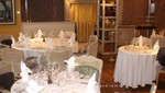 set tables in Jacques Restaurant