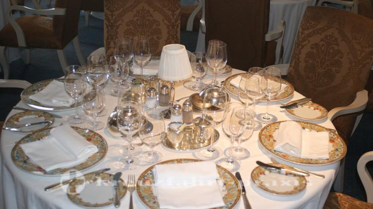 Oceania Nautica - Tisch im Grand Dining Room