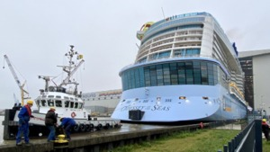 MEYER WERFT - Odyssey of the Seas successfully undocked
