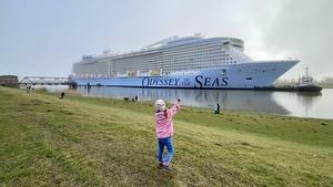 Odyssey of the Seas begins its premiere season in Haifa