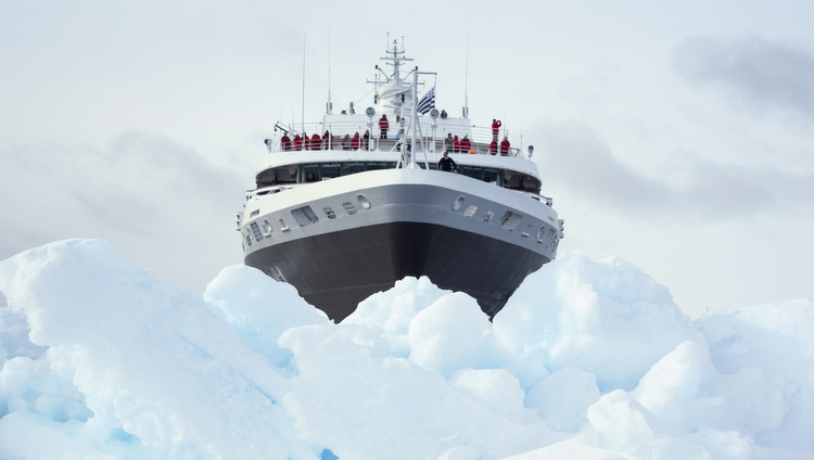 Ponant Icebreaker auf Expedition