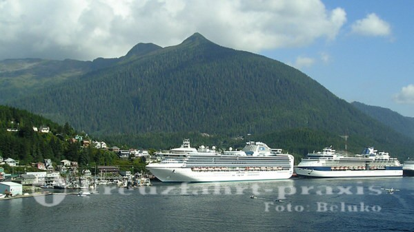 Princess Cruises - Sapphire Princess in Ketchikan/Alaska