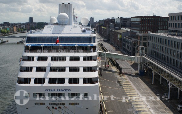 Princess Cruises - Ocean Princess in Amsterdam