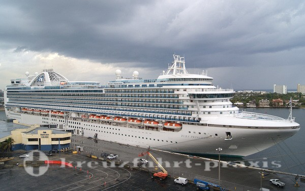 Princess Cruises - Ruby Princess in Fort Lauderdale