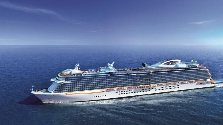 Princess Cruises - Schiffsneubau für den chinesischen Markt - Modell