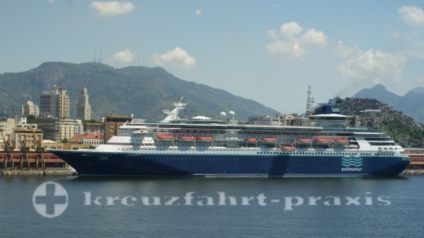 Pullmantur - Sovereign in Santos/Brasilien