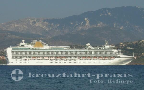 P & O Cruises - Azura - Vor Argostoli