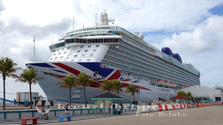 P&O Britannia - das derzeitige Flaggschiff