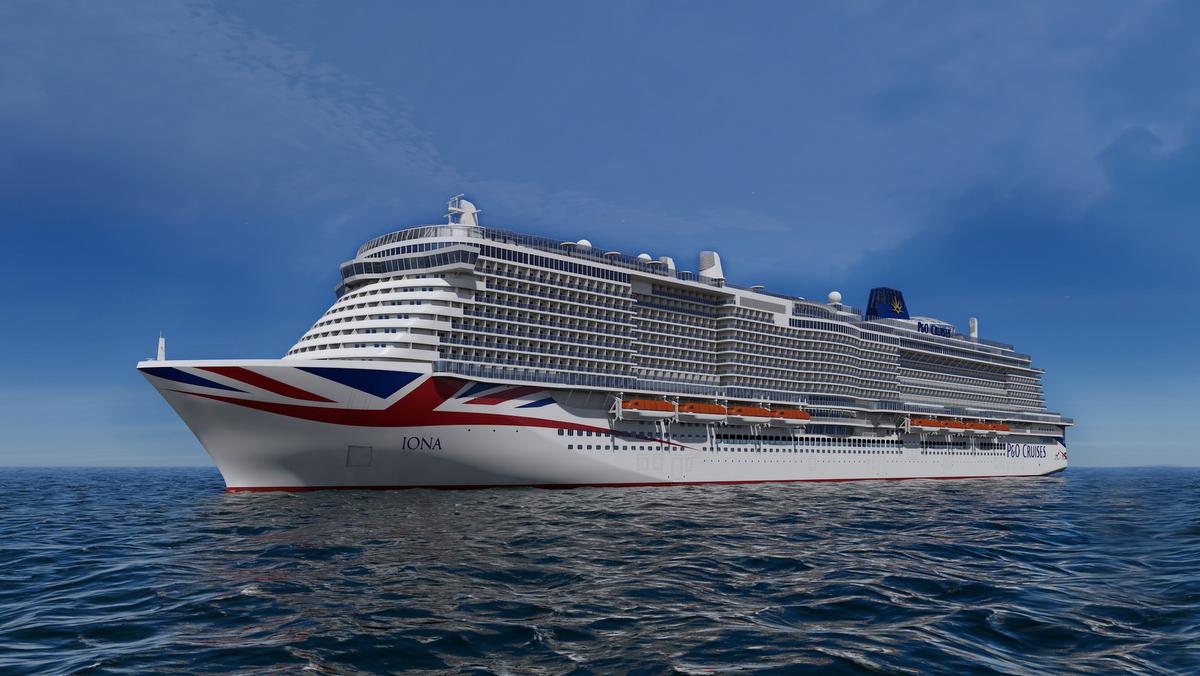 P&O IONA - Rendering
