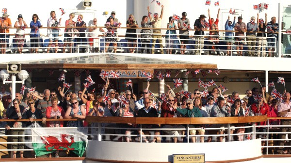 P&O Ventura - Great British Sailaway Party